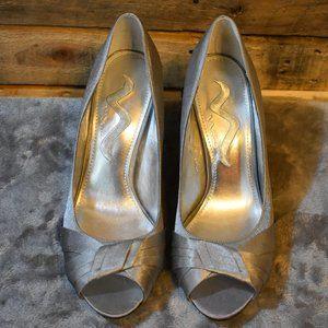 Nina Silver Formal Dress High Heel Shoes